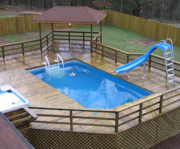 Deck Around An Above Ground Pool, How To Design A Deck Around An Above Ground Pool