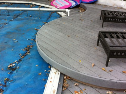 Deck Around An Above Ground Pool, How To Build A Floating Deck Around An Above Ground Pool